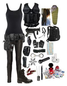 """S.H.I.E.L.D. agent #2"" by emma-directionner-r5er ❤ liked on Polyvore"