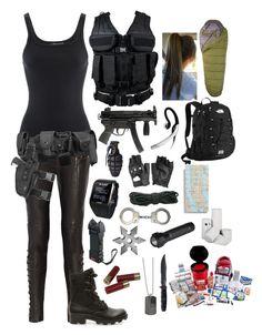 """S.H.I.E.L.D. agent #2"" by emma-directionner-r5er ❤ liked on Polyvore"
