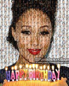 Pixel Photo Collage Wishes 💝💝 💝💝💝 💝💝💝💝 a very Happy Birthday! Cel Spellman, Pixel Photo, Lilly Singh, Photo Mosaic, Very Happy Birthday, Happy B Day, Shout Out, Wish, Birthdays