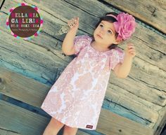 Peasant Dress Fit for A PRINCESSPink Glitter by lakenandlila, $48.50