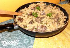 Fusilli, Rigatoni, Gnocchi, Wok, Love Food, Risotto, Ethnic Recipes, Kitchen, Cooking