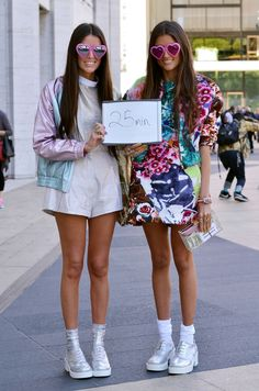 Street Style Surveys: How Long Did It Take You To Get Dressed Up This Morning?