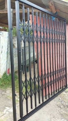 Fence Gate Design, Front Gate Design, Metal Gates, Wrought Iron Doors, Window Grill Design, Balcony Design, Welded Metal Projects, Balustrades, Sliding Gate