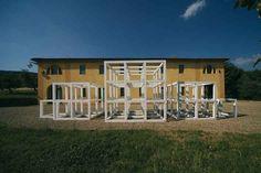 """""""1-2-3-2-1"""" by Sol Lewitt, 2000_Collezione Gori - Fattoria di Celle, Santomato (Pistoia), IT"""