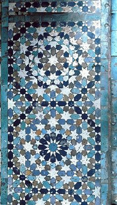 Pattern in Islamic Art - Mausoleum of Moulay Ishmael