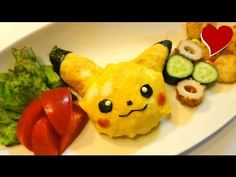 How to make Pikachu Omelette Rice