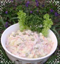 Čistinkina vareška: Šalát na chlebíčky Egg Salad, Pasta Salad, Potato Salad, Guacamole, Catering, Nom Nom, Cabbage, Recipies, Good Food