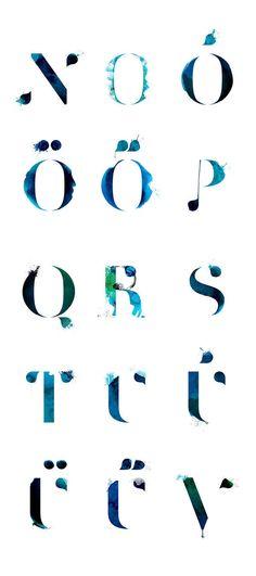 Horrisomnia: initials & pictos by stratyap , via Behance
