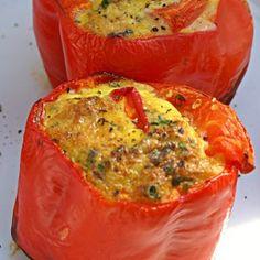 Easy Gluten Free Bell Pepper Breakfast Bowl | Going Cavewoman