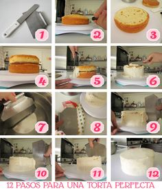 All You Need Is Cupcakes!: DIY: Paso a paso para una torta perfecta