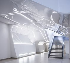 Amazing futuristic design at the Place Quebec designed by Atelier 21  Architects