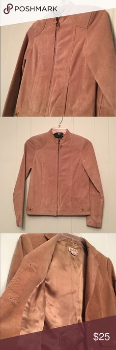 Ruff Hewn Moto Jacket Ruff Hewn Jacket, Genuine Leather Lining, 100% Polyester, Good Condition, Some fading. Ruff Hewn Jackets & Coats