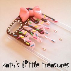 Sauce and Sprinkles IPhone 5 Decoden Phone by KatysLittleTreasures