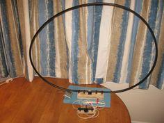 Medium Wave AM Broadcast Band Resonant Loop Antenna.