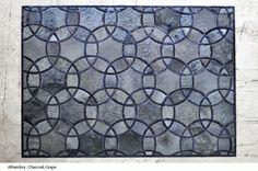 Alhambra Cowhide Rug by Kyle Bunting