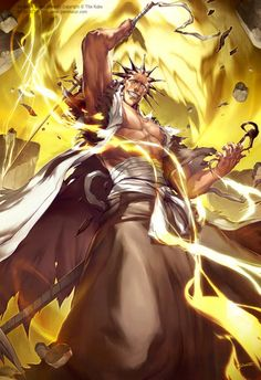 Image uploaded by sarah robin. Find images and videos about bleach, shinigami and kenpachi zaraki on We Heart It - the app to get lost in what you love. Bleach Manga, Bleach Fanart, Manga Anime, Comic Manga, Anime Comics, Anime Neko, Shinigami, Bleach Characters, Anime Characters