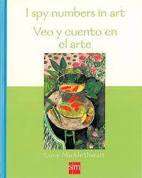 Libro bilingüe con 20 magníficos cuadros en los que el niño deberán buscar y contar objetos y animales.