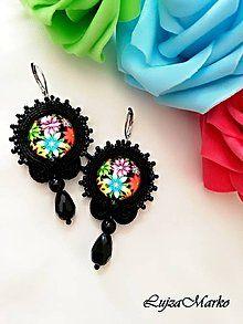 Personalizované motýliky (s monogramom) / LujzaMarko - SAShE.sk - Handmade Doplnky Crochet Earrings, Drop Earrings, Jewelry, Jewlery, Jewerly, Schmuck, Drop Earring, Jewels, Jewelery