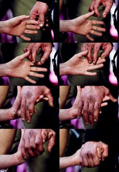 bellamy clarke holding hands