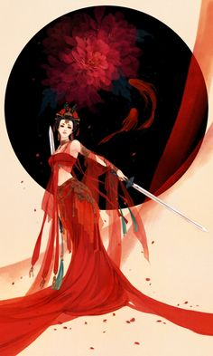The woman born of the red lotus