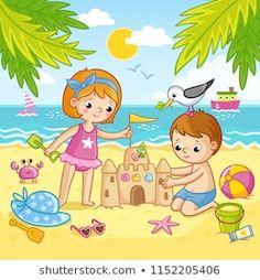 30 Best Berkelah Images Clip Art Beach Clipart Summer Clipart