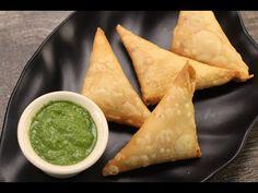 Corn Paneer Samosa | Sanjeev Kapoor Khazana - YouTube
