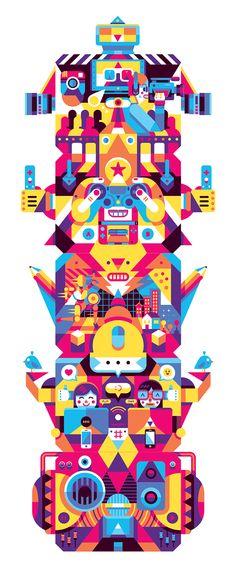 MIMEC 2014 : Living Digital on Illustration Served