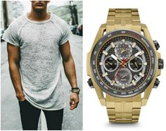"""The """"Precisionist Chronograph"""" is particularly refined with many great features and looks great on any wrist! #Bulova #MensStyle #MensWatches #Watches"""