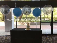 Confetti and Tulle at the Crowne Plaza, Canberra. Not sure who to give credit to for the lovely cake Tulle Balloons, Confetti Balloons, First Birthday Balloons, Ceiling Lights, Cake, Home Decor, Pie Cake, Homemade Home Decor, Ceiling Light Fixtures