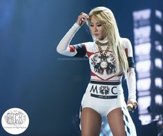 2NE1 CL. I wish I had A) her confindence, and B) her body.