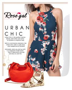 """""""floral rompers"""" by imajaa ❤ liked on Polyvore featuring Cloverpost, Diane Von Furstenberg and Steve Madden"""