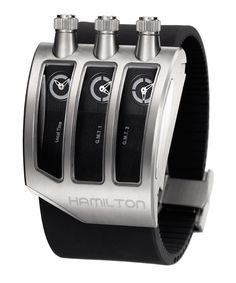 #Hamilton ODC X-02 Quartz Titanium priced at USD 1,750. #unique watch