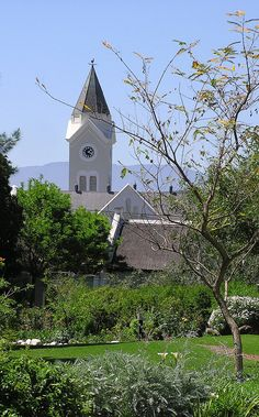 The Temenos garden is situated in the heart of McGregor In The Heart, Flourish, South Africa, Mansions, House Styles, Garden, Home, Decor, Garten
