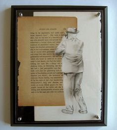 Man with a Camera Mixed Media Collage | Art Pieces | Brenda Rose | Scoutmob Shoppe | Product Detail