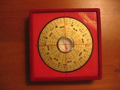 "The Bagua Compass.  A ""must"" must-have unless you've got your own feng shui consultant!"