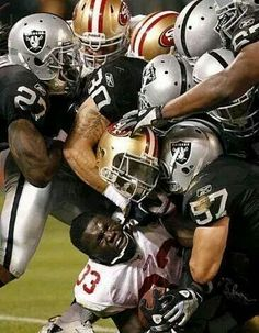 Oakland Raiders going to be doing a whole lot of this in the 2015 season. #nfl #raiders #football