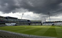 (Aug 03 2020) Clouds gather over Edgbaston during day 3 of the Bob Willis Trophy match between Warwickshire and Northamptonshire at Edgbaston in Birmingham, England. (Photo by David Rogers/Getty Images)