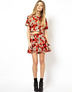 Image 1 ofASOS Shorts in Floral Print