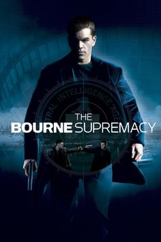 The Bourne Supremacy (2) ~ Matt Damon, Julia Stiles, Brian Cox, Joan Allen, Karl Urban, Tomas Arana, Michelle Monaghan, Karel Roden.