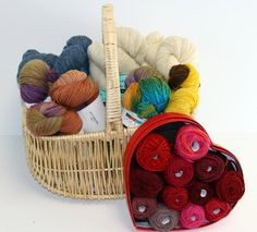 Enter to win the STITCHES Ultimate Yarn Bundle from Knitting Universe through AllFreeKnitting! You could win $600 worth of yarn related prizes from this fabulous giveaway.