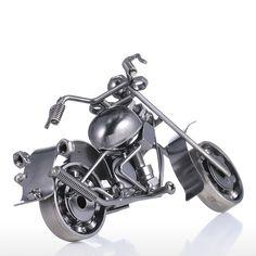 Iron Art Motorcycle Tooarts Homeoration Decicraft Modern Sculpture Crafts Gift
