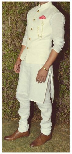 The Traditional Kurta Look #traditional #dresses #men Read on to know how to wear a kurta in a classic way!