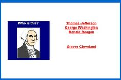 Name that President Game #educational