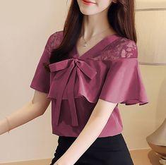 Fashion Brand, Korea, Ruffle Blouse, Mustard, Ootd, Sweaters, Dresses, Pj, Design