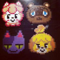 Animal Crossing perler beads by jamiesueevans