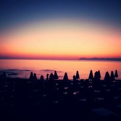 A beautiful morning  No filter! #Chania #Crete #Greece #sunrise #beach