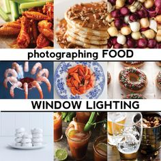 $5 tutorial on photographing food; issue 1 is using window lighting