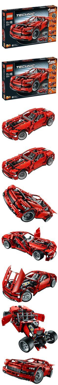 LEGO Technic Super Car (8070), LEGO Technic Set #8070 Supercar, #Toys, #Building Sets