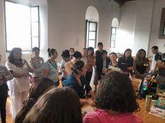 Aquí con el grupo del Diplomado Interdisciplinario para la enseñanza de las Artes en Educación Básica en Morelia Michoacán.  Un grupo con grandes ideas y posibilidades para transformar.
