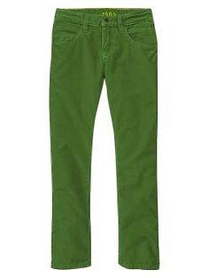 Straight corduroy pants | Gap - HENRI 4 HAPPY GREEN
